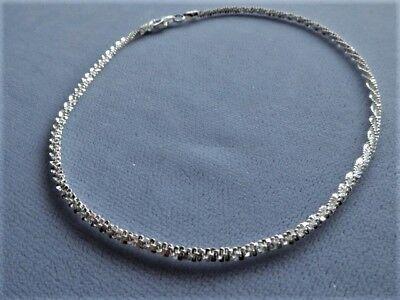 Designer Sterling Silver Anklet - 10