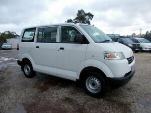 2012 Suzuki APV White 5 Speed Manual Van Bayswater North Maroondah Area Preview