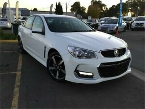 2017 Holden Commodore VF II MY17 SV6 White Sports Automatic Sedan Minchinbury Blacktown Area Preview