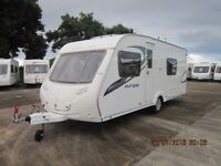 2011 STERLING EUROPA 550 4 BERTH FIXED BED END WASHROOM CARAVAN ANDERSON CARAVAN SALES