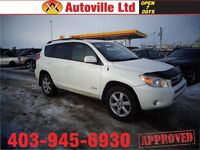 2008 Toyota RAV4 Limited AWD SUNROOF $ 13988 EVERYONE APPROVED