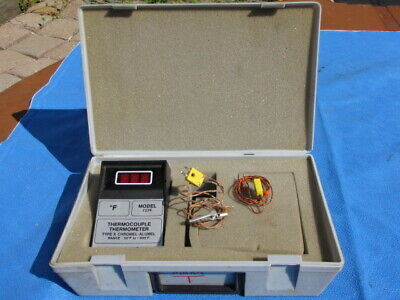 Vintage Omega Type K Thermocouple Thermometer