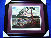 "Tom Thomson ""The West Wind"" Framed L/E Print Great Wall Appeal"