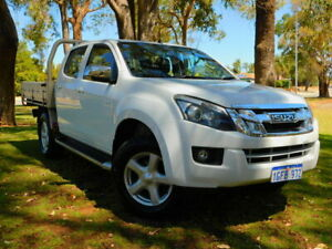 2012 Isuzu D-MAX MY11 SX 4x2 High Ride White 4 Speed Automatic Utility