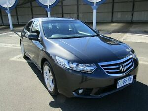 2011 Honda Accord 10 MY12 Euro Luxury Navi Grey 5 Speed Automatic Sedan Invermay Launceston Area Preview