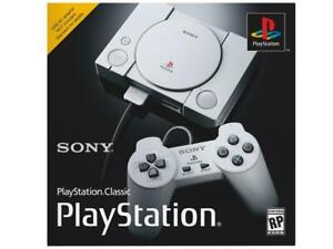 PS1 Classic in box, 128GB Flash drive and OTG Cable