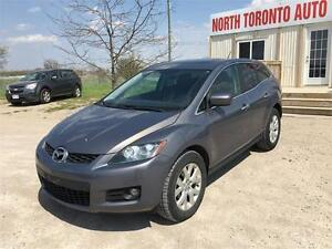 2007 MAZDA CX-7 GS - LEATHER - SUNROOF - HEATED SEATS - 4 CYL