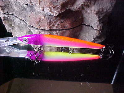 Custom Painted Rapala Suspending Down Deep Husky Jerk,DHJ-12 Pecker Head Screw