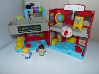 fisher price little people musical school playset