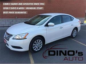 2013 Nissan Sentra S | $52 Weekly $0 Down *OAC / Auto / A/C