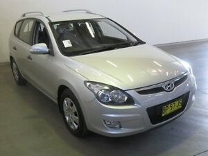 2011 Hyundai i30 FD MY12 CW SX 2.0 Silver 4 Speed Automatic Wagon Westdale Tamworth City Preview