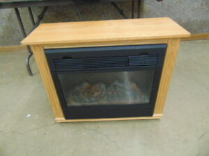 Amish Made  Electric Fireplace