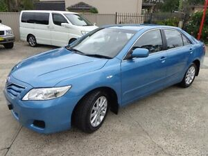 2011 Toyota Camry ACV40R 09 Upgrade Altise Blue 5 Speed Automatic Sedan Sylvania Sutherland Area Preview