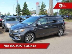 2019 Kia Sedona SXL+; FULLY LOADED, 7 PASS, NAV, SAMRT CRUISE, L