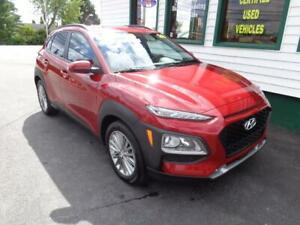 2019 Hyundai Kona Luxury AWD for $225 bi-weekly all in!