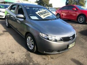 2010 Kia Cerato TD MY10 S Charcoal Sports Automatic Sedan Lidcombe Auburn Area Preview