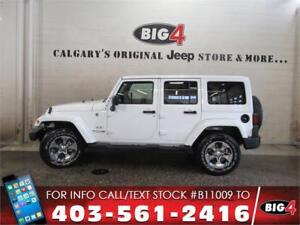 2018 Jeep Wrangler JK Unlimited Sahara | Leather | PRICE DROP!!!