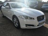 JAGUAR XF 2.2d [200] Luxury Auto (white) 2013