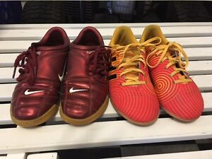 Youth / Kids Indoor Soccer Shoes / Nike and Adidas