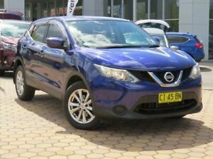 2016 Nissan Qashqai J11 ST Blue 1 Speed Constant Variable Wagon Greenway Tuggeranong Preview