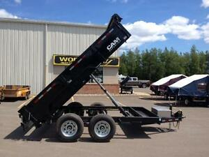 "New 2016 Cam Superline 80"" x 12' HD Dump Trailer"