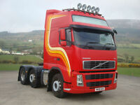 2009 Volvo FH13.480 Globetrotter XL 6X2 Tractor Unit