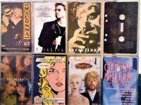 CORRS, ETERNAL, EVERLY B, EURYTHMICS, B FERRY, MADONNA, G MICHAEL & JAGGER, G MILLER, CASSETTE TAPES