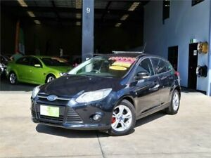 2013 Ford Focus LW MkII Trend PwrShift Black 6 Speed Sports Automatic Dual Clutch Hatchback Slacks Creek Logan Area Preview