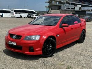 2011 Holden Commodore VE II SV6 Red 6 Speed Manual Sedan New Lambton Newcastle Area Preview