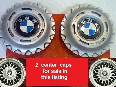 1996-2003 2 BMW 318i 325i 525i 528i 530i 540i 740i 750i Center Caps Hub 6.75""