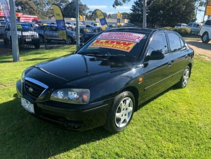 2005 Hyundai Elantra XD MY05 FX Black 4 Speed Automatic Sedan Ferntree Gully Knox Area Preview
