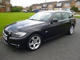 12/12 BMW 318 D EXCLUSIVE EDITION TOURING FULL HEATED LEATHER £30 TAX
