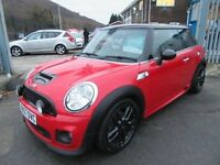 MINI Hatch COOPER S 3d 172 BHP SERVICE HISTORY (red) 2008