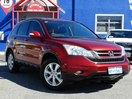 2010 Honda CR-V RE MY2010 Sport 4WD Red 5 Speed Automatic Wagon
