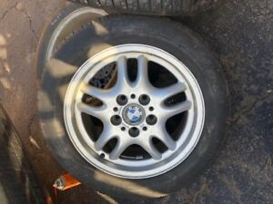 BMW Aluminium Rims and Tires