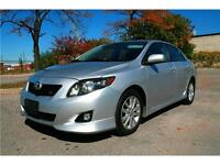 2009 Toyota Corolla S,ABS,sunroof,all power,alloy,MINT condition