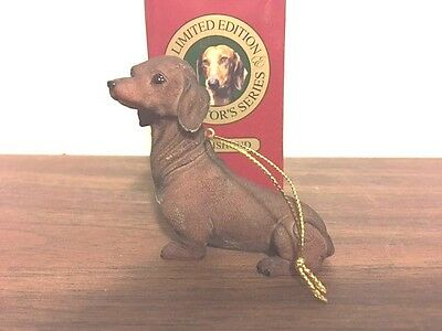 Dachshund Collectible Christmas Tree Ornament, New in Box, Free Shipping