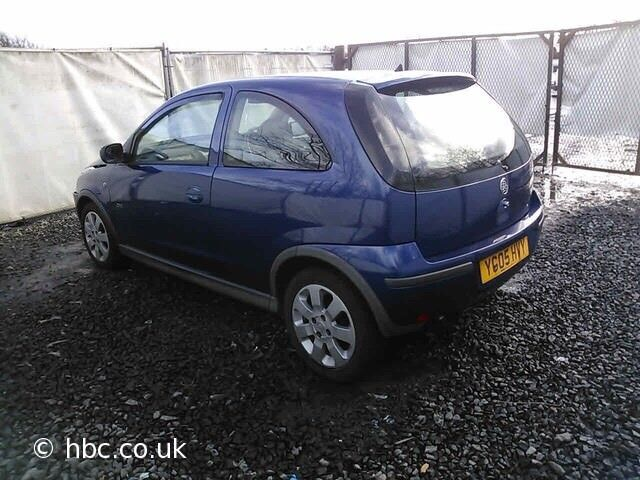 Vauxhall Corsa C 1.2 16v Twinport 2005 For Breaking