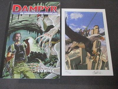 Dampyr 29 Geheimnisse von Dreamland  Hardcover Luxus limitiert 66 Exemplare