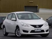 2015 Nissan Pulsar C12 Series 2 ST White 1 Speed Constant Variable Hatchback Sunbury Hume Area Preview