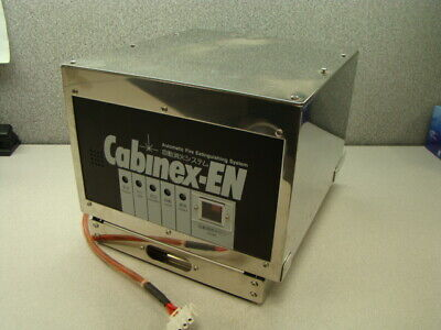 Cabinex-en Automatic Fire Extinguishing System