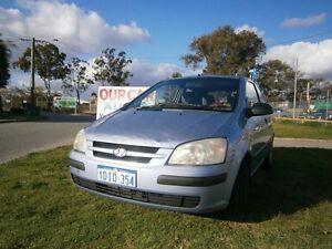 2003 Hyundai Getz XL 3 DOOR WEEKEND SPECIAL Blue Manual Hatchback Maddington Gosnells Area Preview