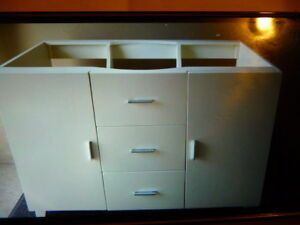 European Style Modern Vanity with Double Sinks, Brand New in Box