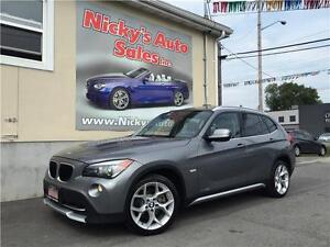 2012 BMW X1 xDrive, AWD, SPORT PKG, PADDLE SHIFT, PANORAMIC ROOF