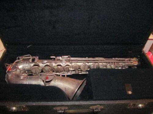 Vintage Buescher Saxophone true tone low pitch 1930-31 & Case