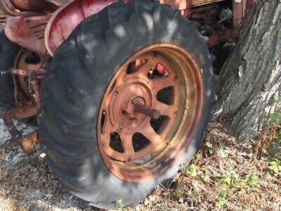Farmall 300 350 400 450 Tractor Ih Double Bevel Rim 15.5 38 Long Bar Tread Tire