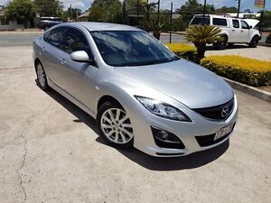2012 Mazda 6 GH1052 MY12 Touring 5 Speed Sports Automatic Hatchback Acacia Ridge Brisbane South West Preview