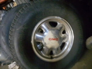 4  //  GMC RIMS &TIRES 265/75/16