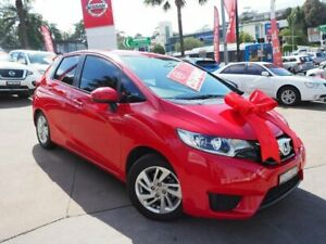 2015 Honda Jazz GF MY15 Limited Edition Red 1 Speed Constant Variable Hatchback Brookvale Manly Area Preview
