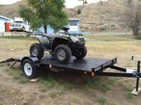 2015 Rainbow Trailer 6 x12  snowmobile to  ATV On Sale!